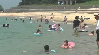 志賀島(勝馬海水浴場)な海水浴場♪ 2012.07.26