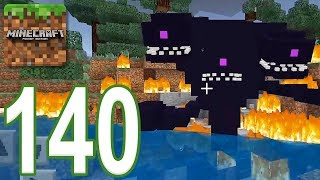 Minecraft: PE - Gameplay Walkthrough Part 140 - Wither Storm Addon (iOS, Android)