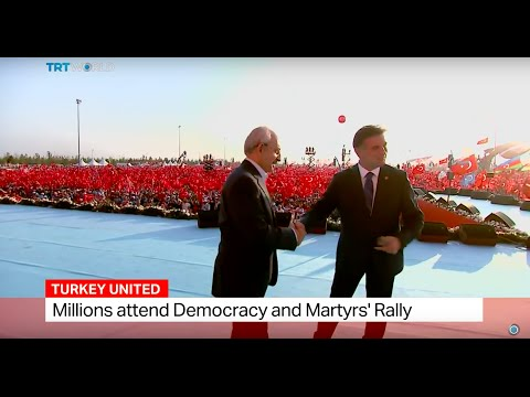 Turkey's main opposition CHP Leader Kemal Kilicdaroglu's spe