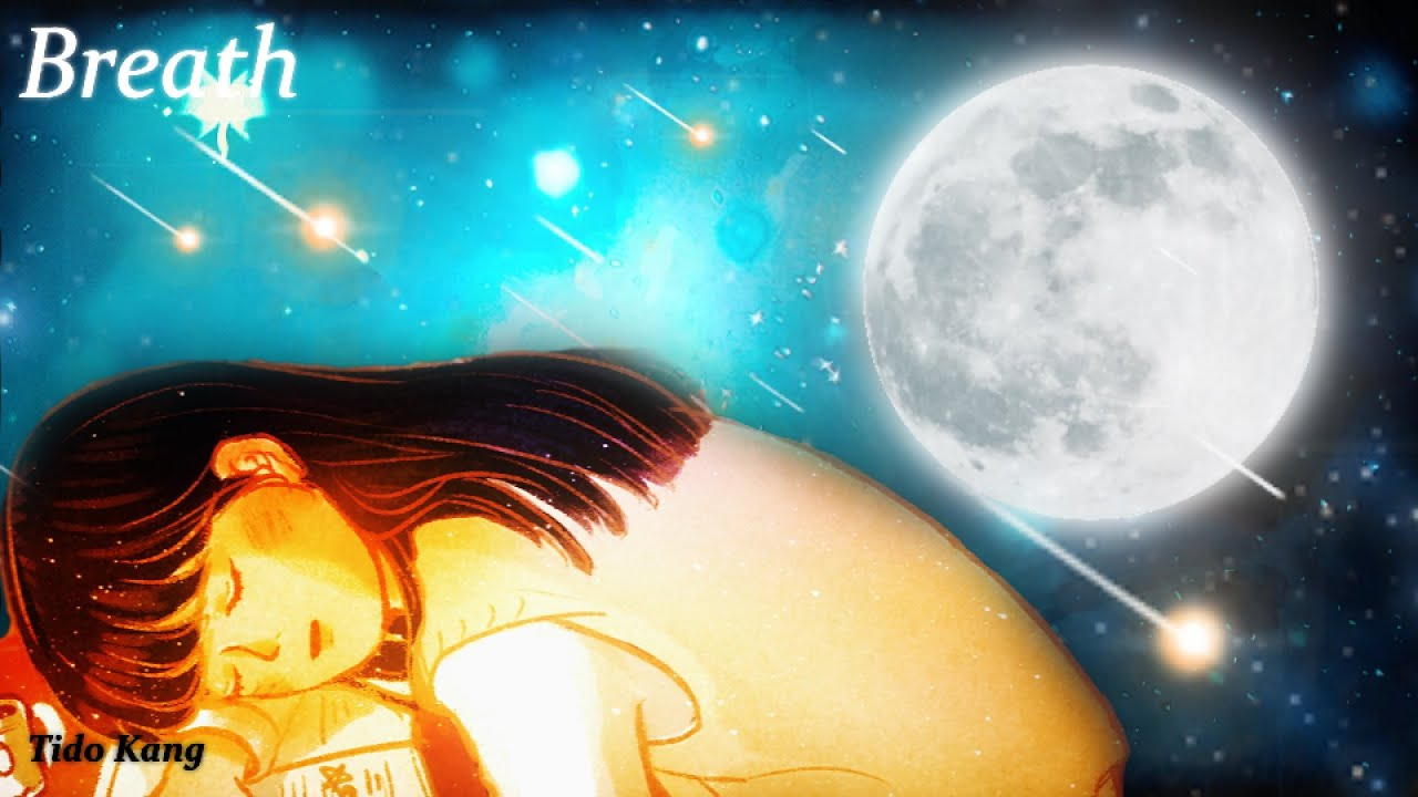 "3 Hours Relaxing Sleep Music🎵 Deep Sleeping Music🌙💕😴 Stress Relief Music, Meditation Music ""Breath"""
