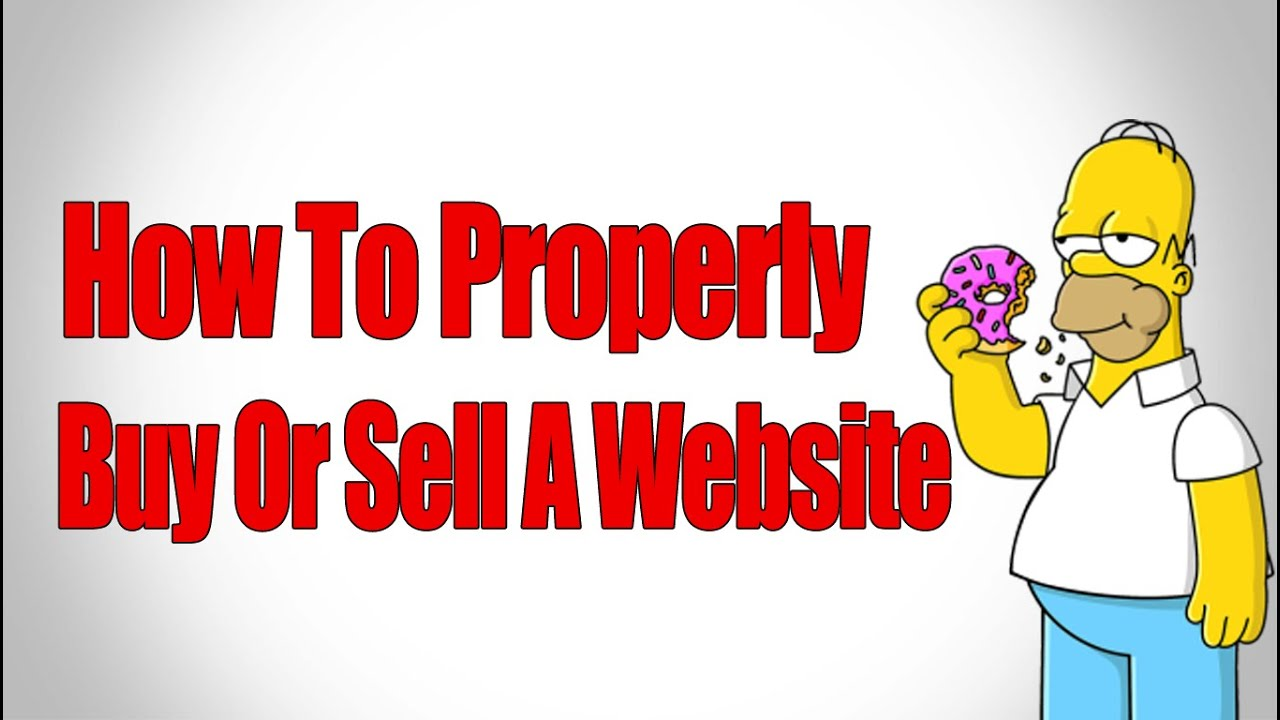 How to sell a website 72