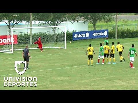 México Sub-15 vengó a la selección mayor al vencer por 1-0 a Jamaica en Concacaf