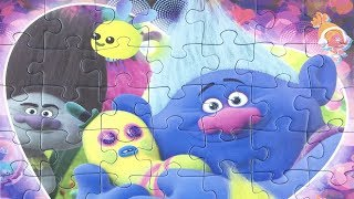 Trolls Jigsaw Puzzle For Kids Biggie Mr. Dinkles пазлы Тролли rompecabezas trolls トロールズ パズル 魔髮精靈 拼图