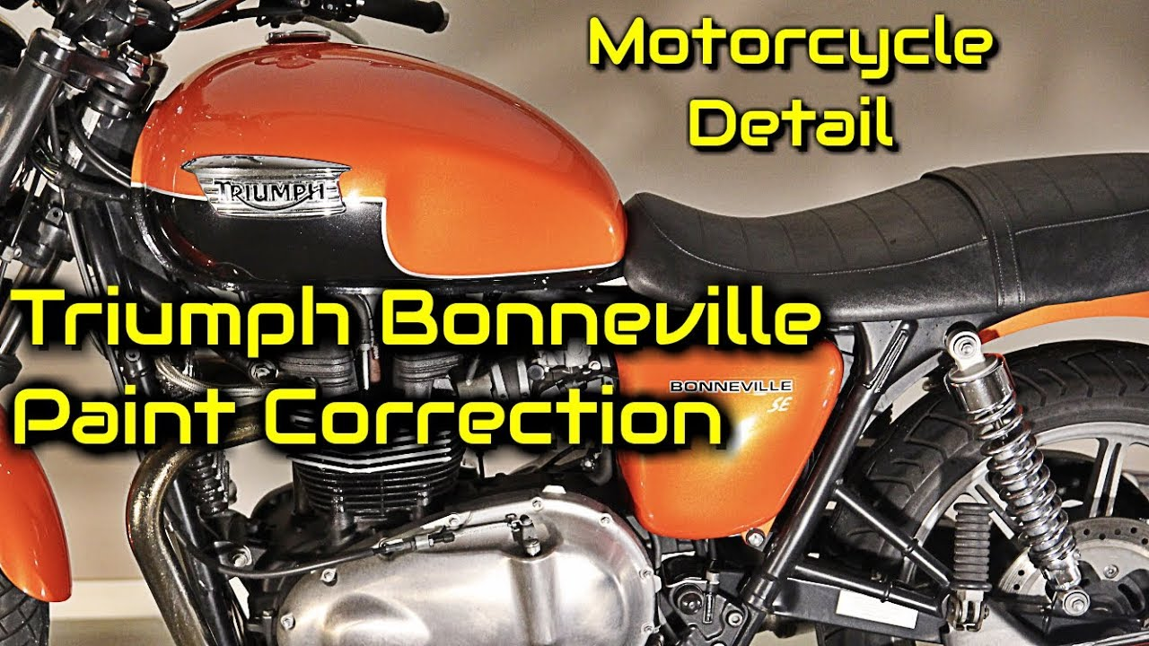 Triumph Bonneville SE Paint Correction