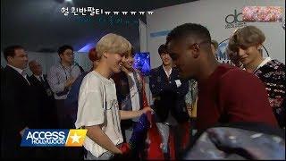 171120 BTS 방탄소년단 AMAs 공연후 Access Hollywood 인터뷰- 한글자막