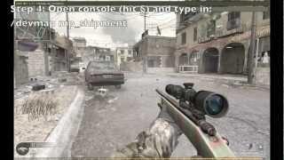 Cod4: Cheats (Tutorial): Multiplayer