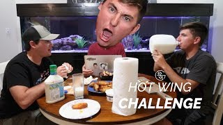 EXTREME HOT WING Challenge!