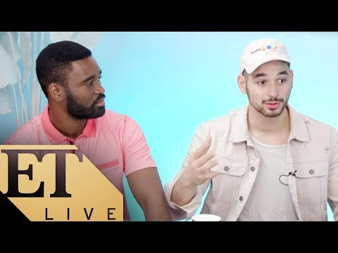 'Dancing With The Stars' Athletes RECAP With Pros Alan Bersten & Keo Motsepe