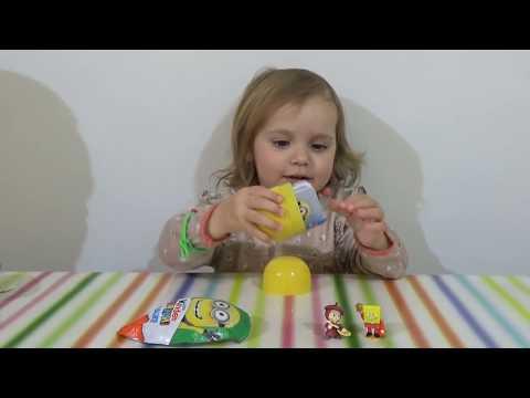 Киндер и яйца с сюрпризом обзор игрушек