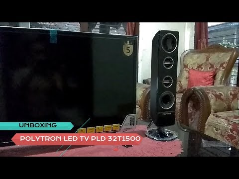 Unboxing Polytron LED TV PLD32T1500