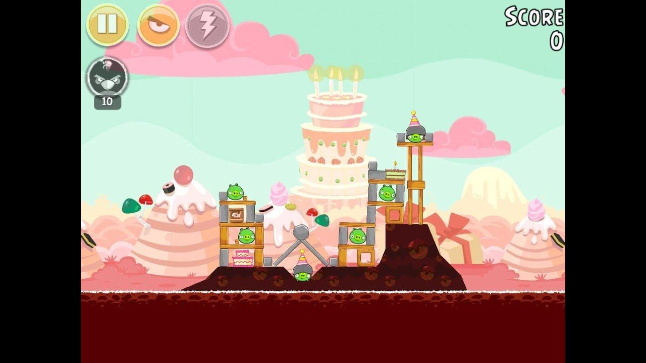 Angry Birds Birdday Party Cake 4 Level 2 Walkthrough 3