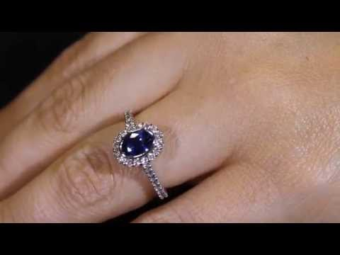 Marilyn sapphire - Engagement ring