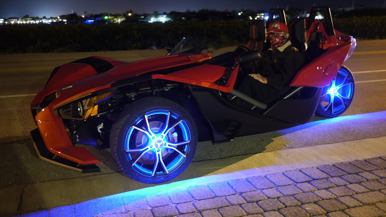 Polaris Slingshot Wheel Lights 5 Minute Installation Of