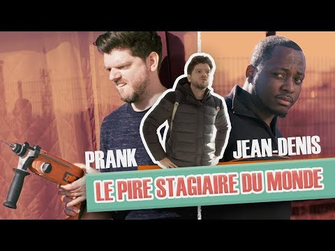 """Prank: """"The worst trainee in the world"""" with Jean-Denis"""
