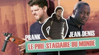 "Prank: ""The worst trainee in the world"" with Jean-Denis"