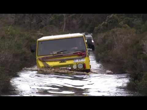 Pinzgauer fail deep water