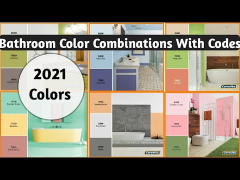 Bathroom Color Combinations Ideas Colors Paint For Room Youtube