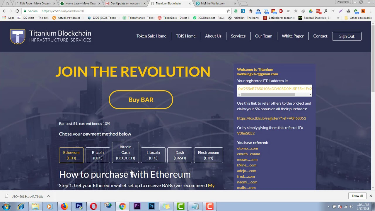 buy titanium bar cryptocurrency