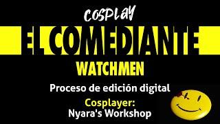 Cosplay El comediante (Watchmen)
