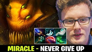 MIRACLE Sand King - NEVER GIVE UP