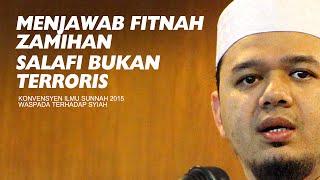 DFB - Menjawab Fitnah Zamihan Salafi Teroris