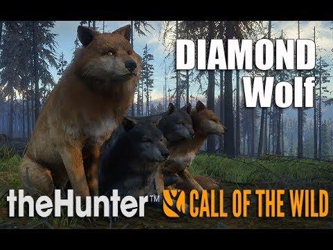 theHunter: Call of the Wild - Yukon Valley - Diamond Gray Wolf