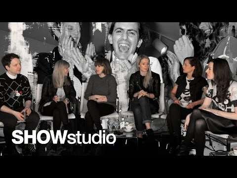 Marc Jacobs Womenswear - Autumn / Winter 2014 Panel Discussion Panel Discussion