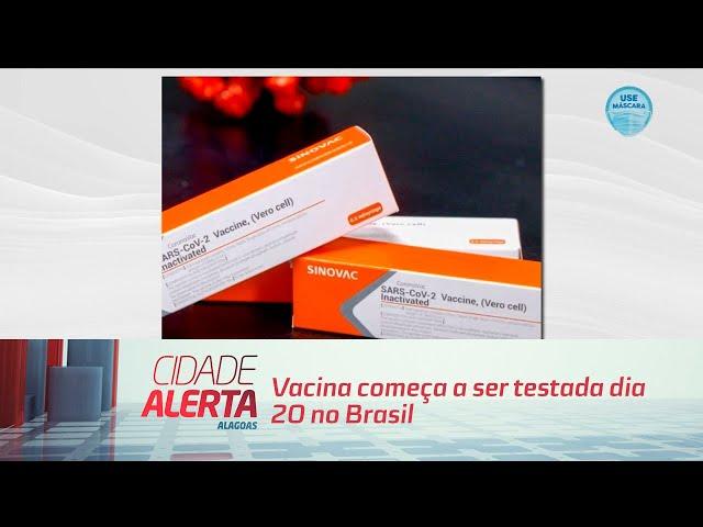 Coronavírus: Vacina começa a ser testada dia 20 no Brasil