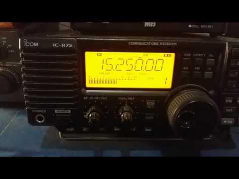 China Radio International, via Urumqi CHINA - 15250 kHz