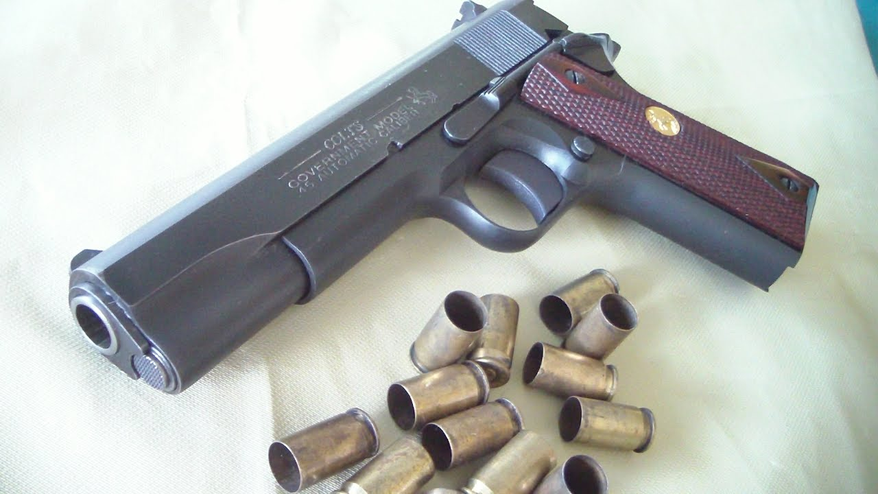 Colt 1911 Government Model Batjac J W Youtube