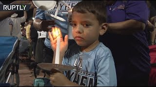 Thousands attend vigil for El Paso shooting victims