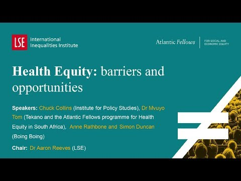 LSE III Annual Conference 2017 | Health Equity barriers and opportunities