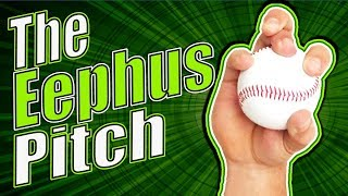 How to grip and throw The Eephus Pitch  [Baseball Pitching Grips - Change Up]