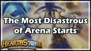 [Hearthstone] The Most Disastrous of Arena Starts