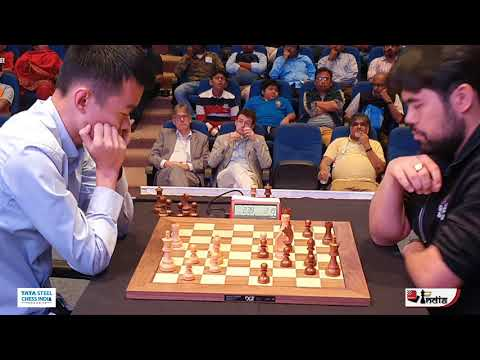 Ding Liren vs Nakamura | Tata Steel Chess India Blitz 2019