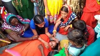 Girl Student Death Accident in Runni Saidpur NH 77 Sitamarhi Muzaffarpur Bihar