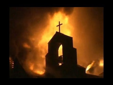 Shocking : Egypt Islamists Destroyed Christian Churches, Schools, Businesses and Homes