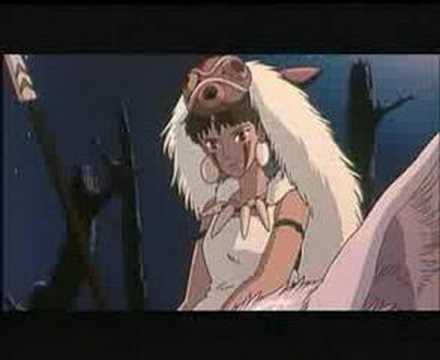 Princesse Mononoke Youtube