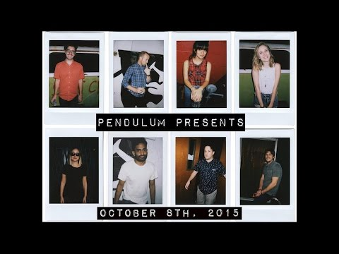 Pendulum Presents: October 8th, 2015