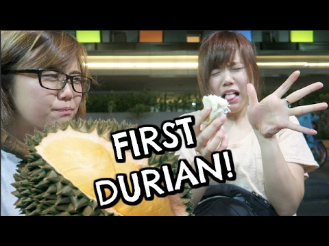 OUR FIRST DURIAN! | Jakarta Kota, Indonesia