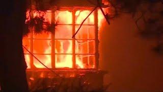 השריפה בקליפורניה