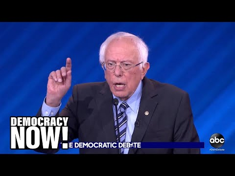 How Senator Bernie Sanders clarified his vision of Democratic Socialism at third Democratic Debate