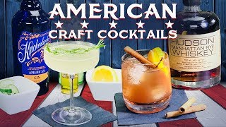 How To Make American Craft Cocktails | Hudson Whiskey & Knickerbocker Cocktail Recipes