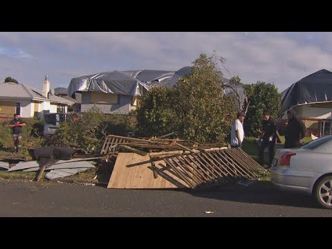 Clean up continues two days after tornado ripped through Auckland's Papatoetoe