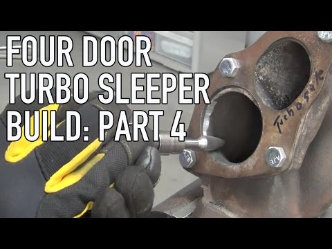 Project Street Sleeper Part 4: New Turbo Assembly & DIY Turbo Porting