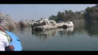 Bhedaghat Of Narmada River Internal Tour by motor boat  with Guide commentary 04.vob