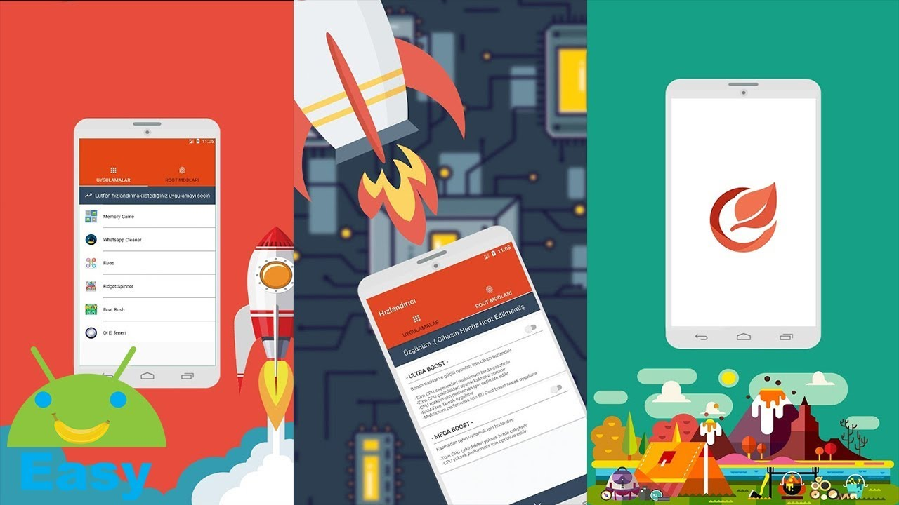 Game Booster ใช้ได้ทั้งแอป ทั้งเกม เพิ่มประสิทธิภาพสูงสุด   Easy Android