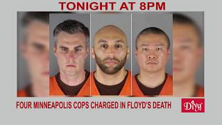All four ex-Minneapolis cops charged in Floyd's death | Diya TV News