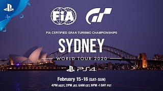 FIA Gran Turismo Championships 2020 Sydney Announcement Trailer | PS4