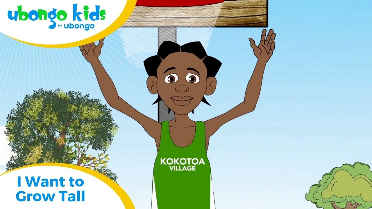 Full Episode #19: I Want to Grow Tall! | Ubongo Kids | Educational Cartoons from Africa